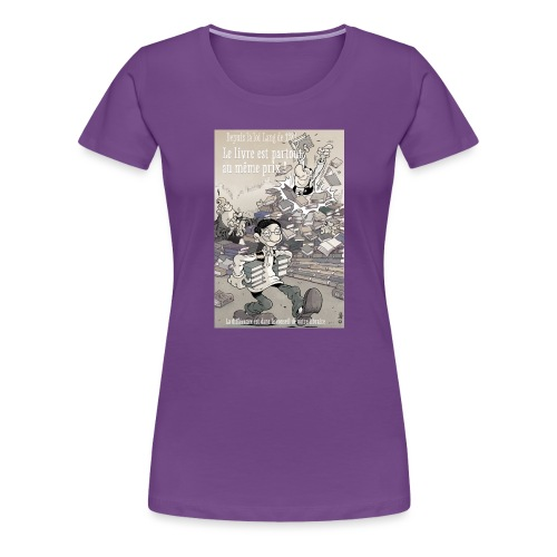 Loi lang - T-shirt Premium Femme
