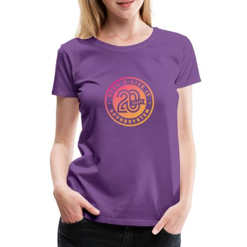 Herbalize It 20th Anniversary Color - Women's Premium T-Shirt
