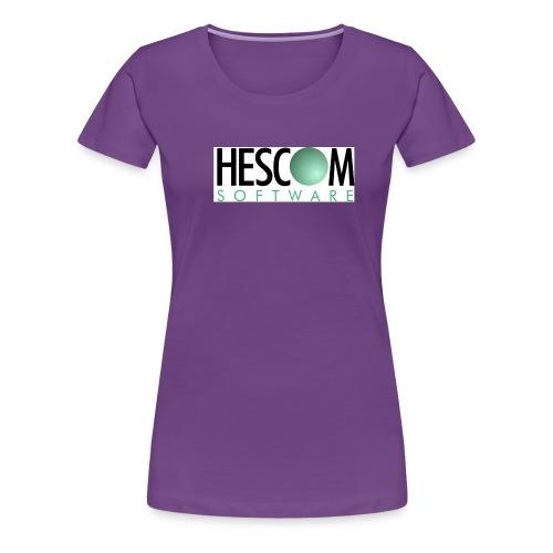 hescomlogo - Frauen Premium T-Shirt