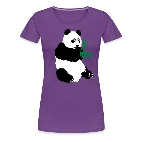 panda bambous - T-shirt Premium Femme