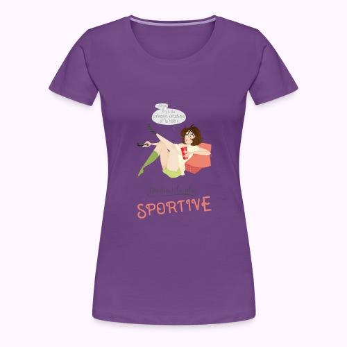Maman la plus sportive - T-shirt Premium Femme