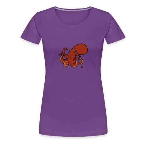 Giant Pacific Octopus - Women's Premium T-Shirt