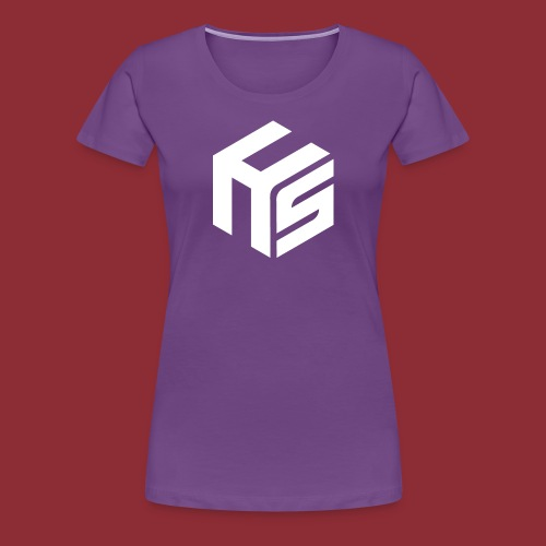Logo White - Women's Premium T-Shirt