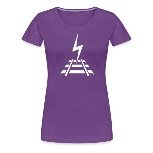 Logo Bahnstromer v9 6 2 - Frauen Premium T-Shirt