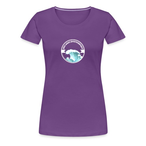 New Wave Entertainment Logo T-Shirt [Support Us] - Women's Premium T-Shirt