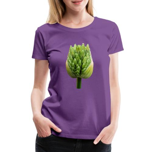 TIAN GREEN Garten - Lauchblütenknospe 2020 01 - Frauen Premium T-Shirt