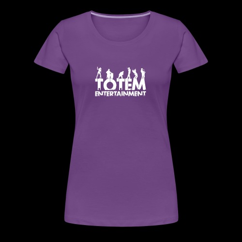 TOTEM Entertainment Logo - Women's Premium T-Shirt