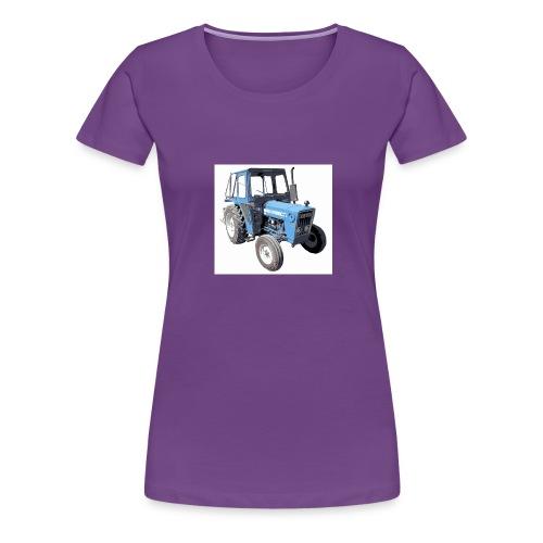 Mari's Traktor Stor Utgave - Premium T-skjorte for kvinner