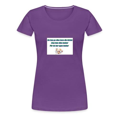 Barn har egna tankar - Premium-T-shirt dam