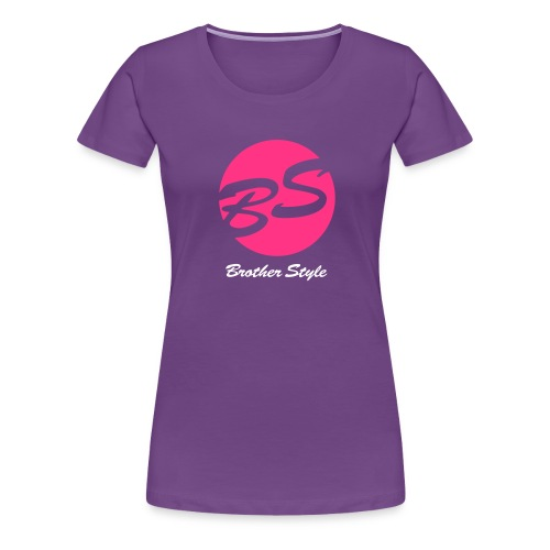 Brother Style Logo 2 - Frauen Premium T-Shirt