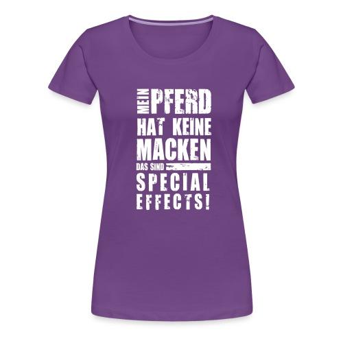 Vorschau: Keine Macken Pferd - Frauen Premium T-Shirt