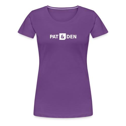 PAT&DEN Logo 0PD02 - Frauen Premium T-Shirt