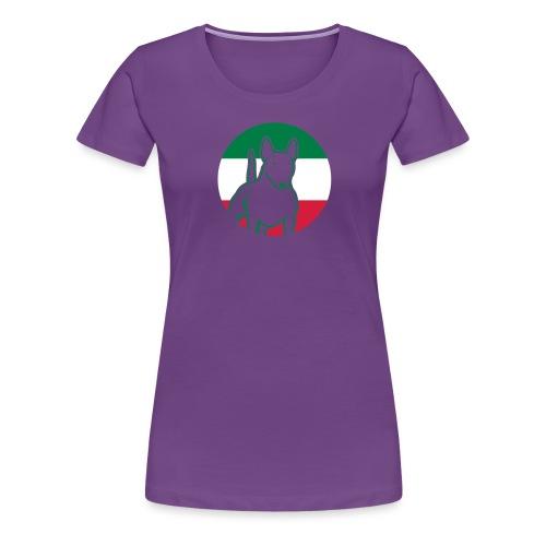 Miniatur Bullterrier IT 3c - Frauen Premium T-Shirt