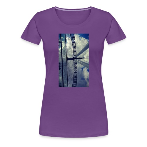London eye Scratched - Camiseta premium mujer