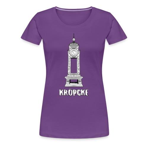 Hannover Kröpcke Uhr - Frauen Premium T-Shirt