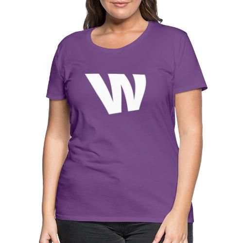 W white - Women's Premium T-Shirt