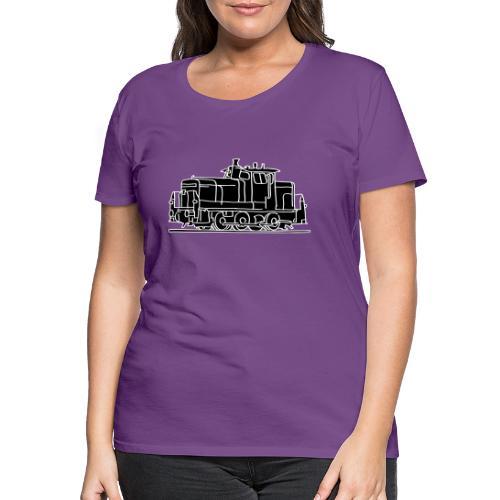 Diesel-Lokomotive 2 - Frauen Premium T-Shirt