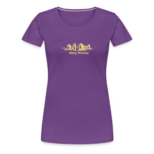 Burg Wersau - Frauen Premium T-Shirt