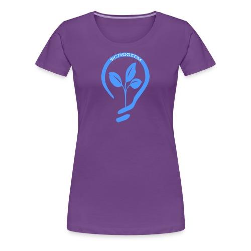 SICTVOO - T-shirt Premium Femme