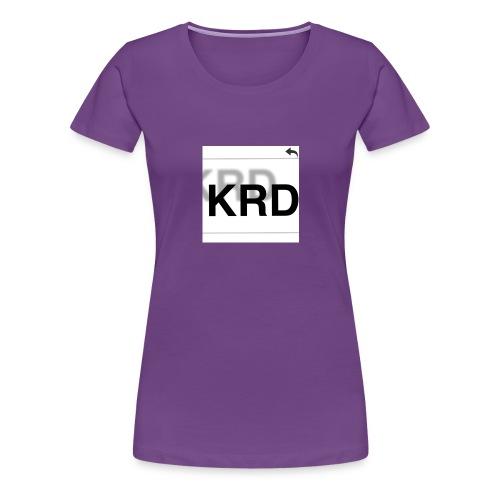 Krd - T-shirt Premium Femme