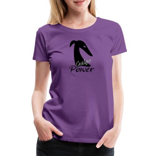 Galgopower - Frauen Premium T-Shirt