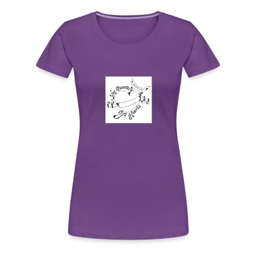 queen of hearts - Frauen Premium T-Shirt