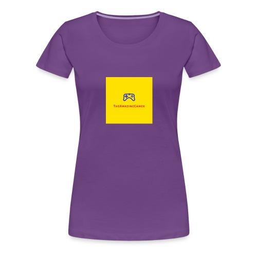 TheAmazingGamer/TAG - Women's Premium T-Shirt