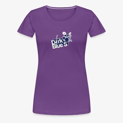 DarkBlueS outline gif - Women's Premium T-Shirt