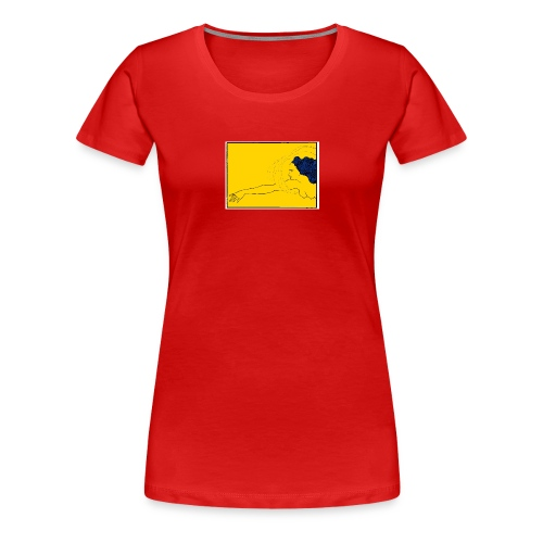 yellow - Women's Premium T-Shirt
