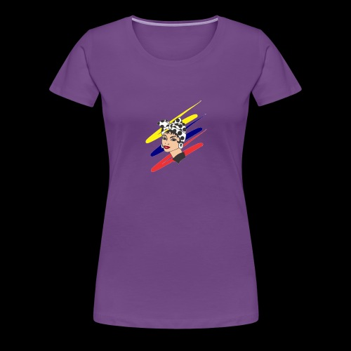 Doña pan venezuela - Camiseta premium mujer