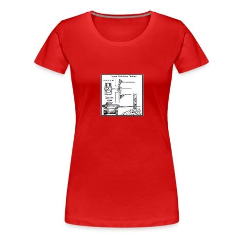 W.O.T War tactic, tank shot - Women's Premium T-Shirt