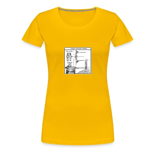 W.O.T War tactic, tank shot - Women's Premium T-Shirt