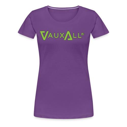 VauxAll Logo | Green | Original - Women's Premium T-Shirt
