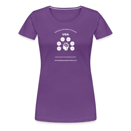 Epilepsy Surgery Friends USA - Women's Premium T-Shirt