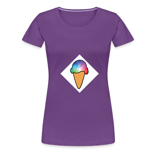 Logo Creamy - T-shirt Premium Femme