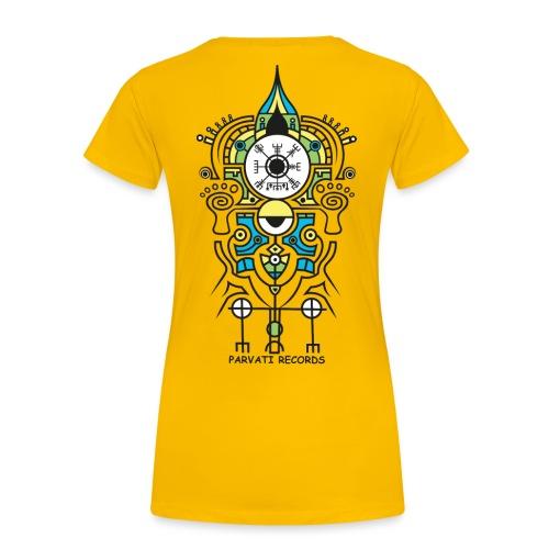 Parvati Records Vegvísir - Women's Premium T-Shirt