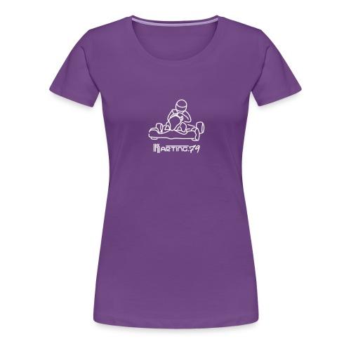 logo kart simplify2 - T-shirt Premium Femme