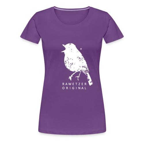 zwitscher-rawetzer-origin - Frauen Premium T-Shirt