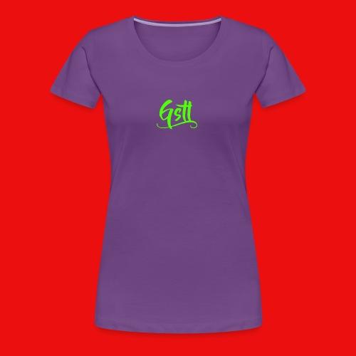 Gstl_Logo_-Green- - Women's Premium T-Shirt