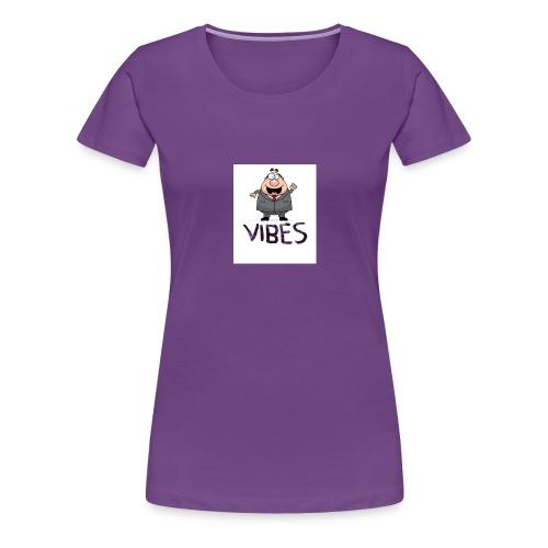 BossVibes version 3 - Dame premium T-shirt