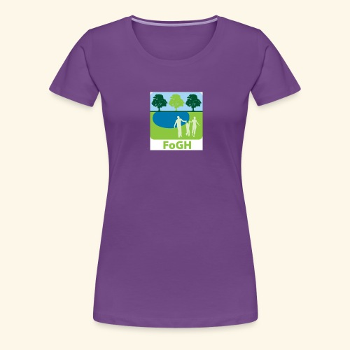 large icon fogh - Women's Premium T-Shirt