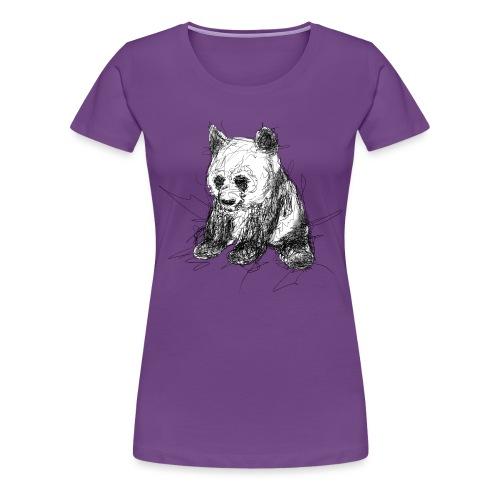 Scribblepanda - Women's Premium T-Shirt