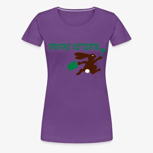 Frohe Ostern Bunny - Frauen Premium T-Shirt