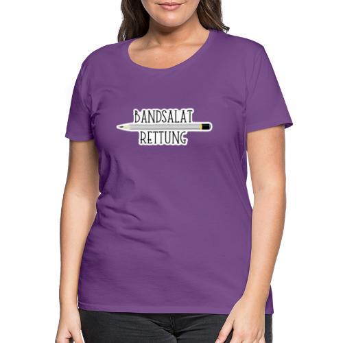 Bleistift Bandsalat Rettung 2 - Frauen Premium T-Shirt