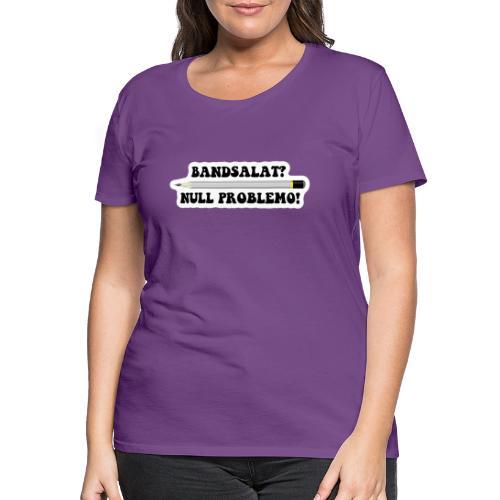 Bleistift Bandsalat Null Problemo 2 - Frauen Premium T-Shirt