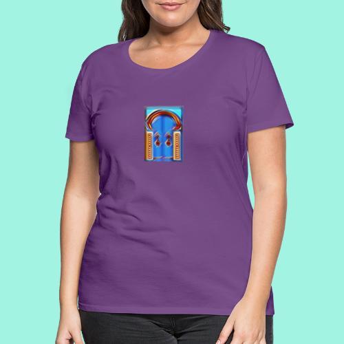 Dream door - Frauen Premium T-Shirt