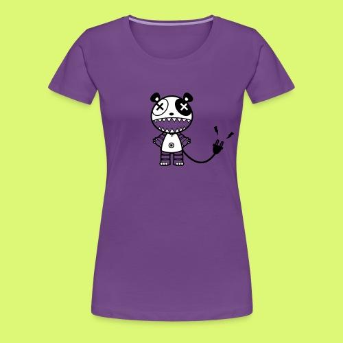 Mecha-Panda 2 - Frauen Premium T-Shirt