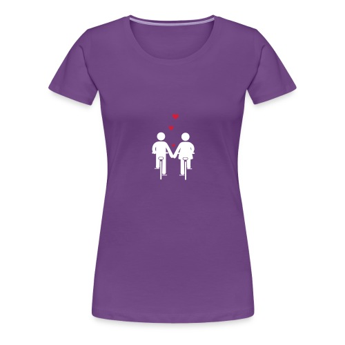 Bike Romance - Frauen Premium T-Shirt