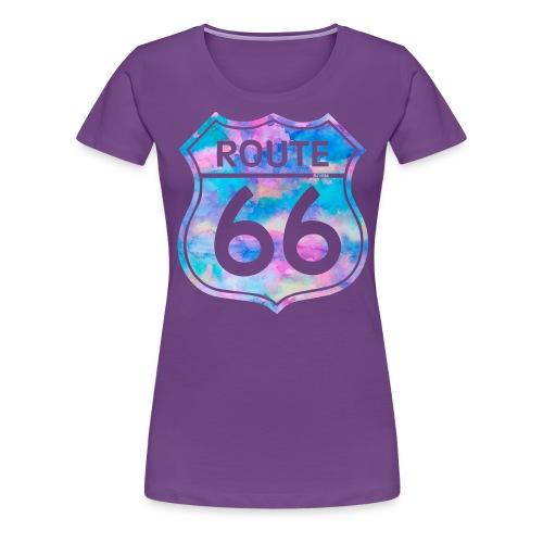 USA roadsign - T-shirt Premium Femme