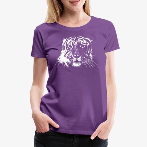 WHITE TIGER - Camiseta premium mujer